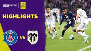 PSG 4-0 Angers | Ligue 1 19/20 Match Highlights