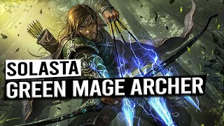 Green WIZARD Archer Build Guide - SOLASTA CROWN OF THE MAGISTER