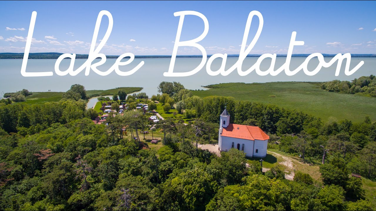 Day trip to Lake Balaton Hungary in 4K!