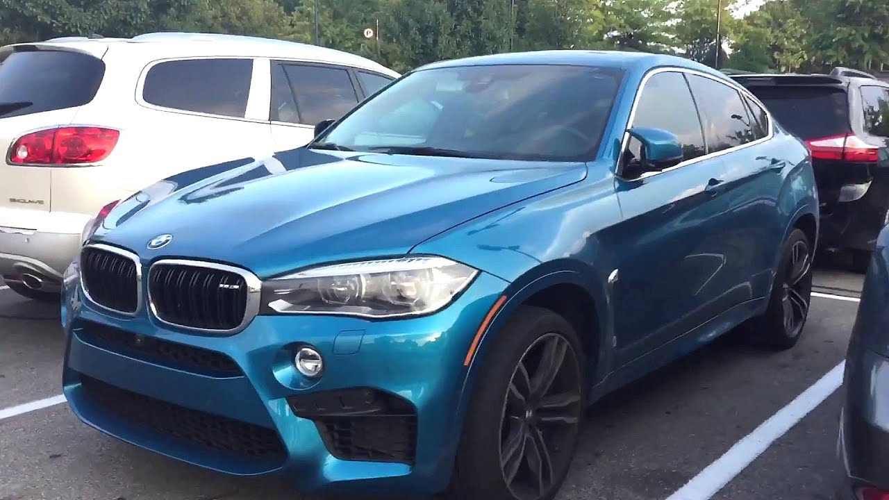 2017 Long Beach Blue Bmw X6 M Walk Around Youtube