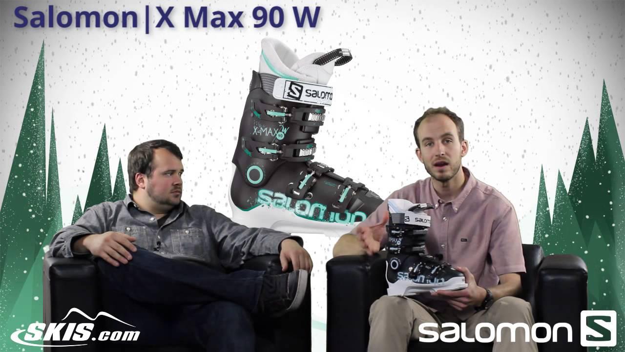 Salomon X Max 90 Ski Boots Women's 2015   evo