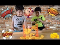 Humpty Dumpty Wall Game for Kids! Family Fun Game Night Minions Surprise Blind Bag