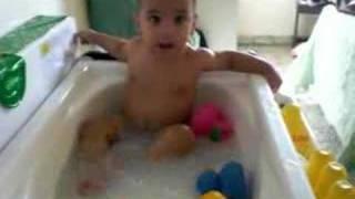 Jayden Bathing