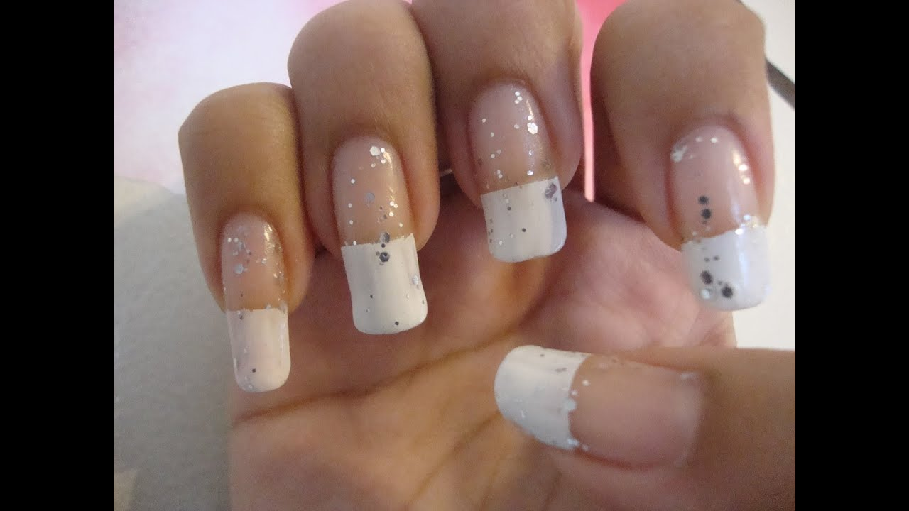 manicura francesa muy facil y elegante youtube