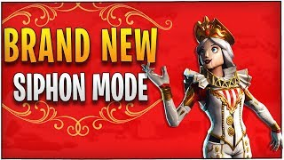 Fortnite - Brand New Siphon Mode with new Crackabella Skin! | DrLupo