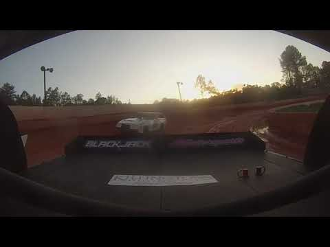 East Lincoln Speedway 2-4-19 Pro 4 Rear Cam Heat Race Alexus Motes