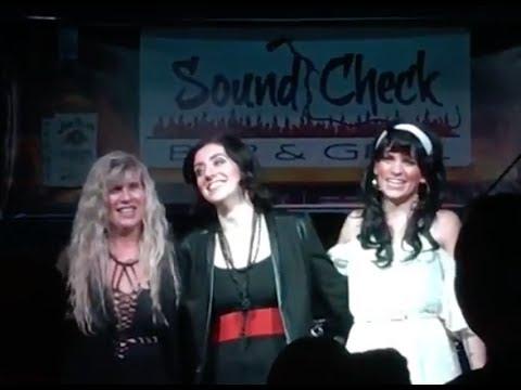 Pat Benatar tribute band PATITUDE - LIVE at Sound Check June 2016