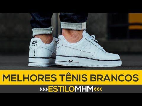 dcd177595 7 tênis brancos masculinos que você TEM QUE TER | Moda Masculina - YouTube