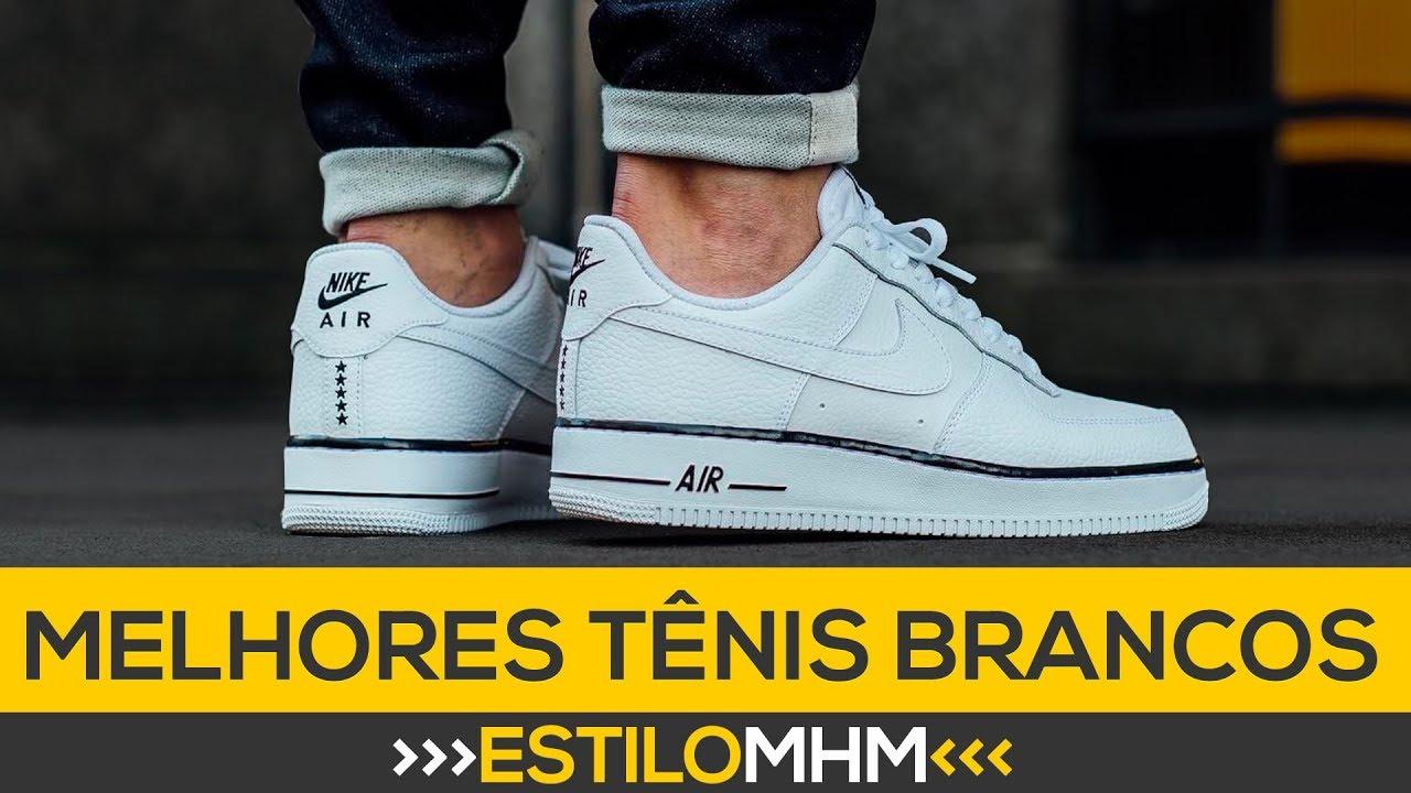 7 tênis brancos masculinos que você TEM QUE TER  df97a28e40ea8