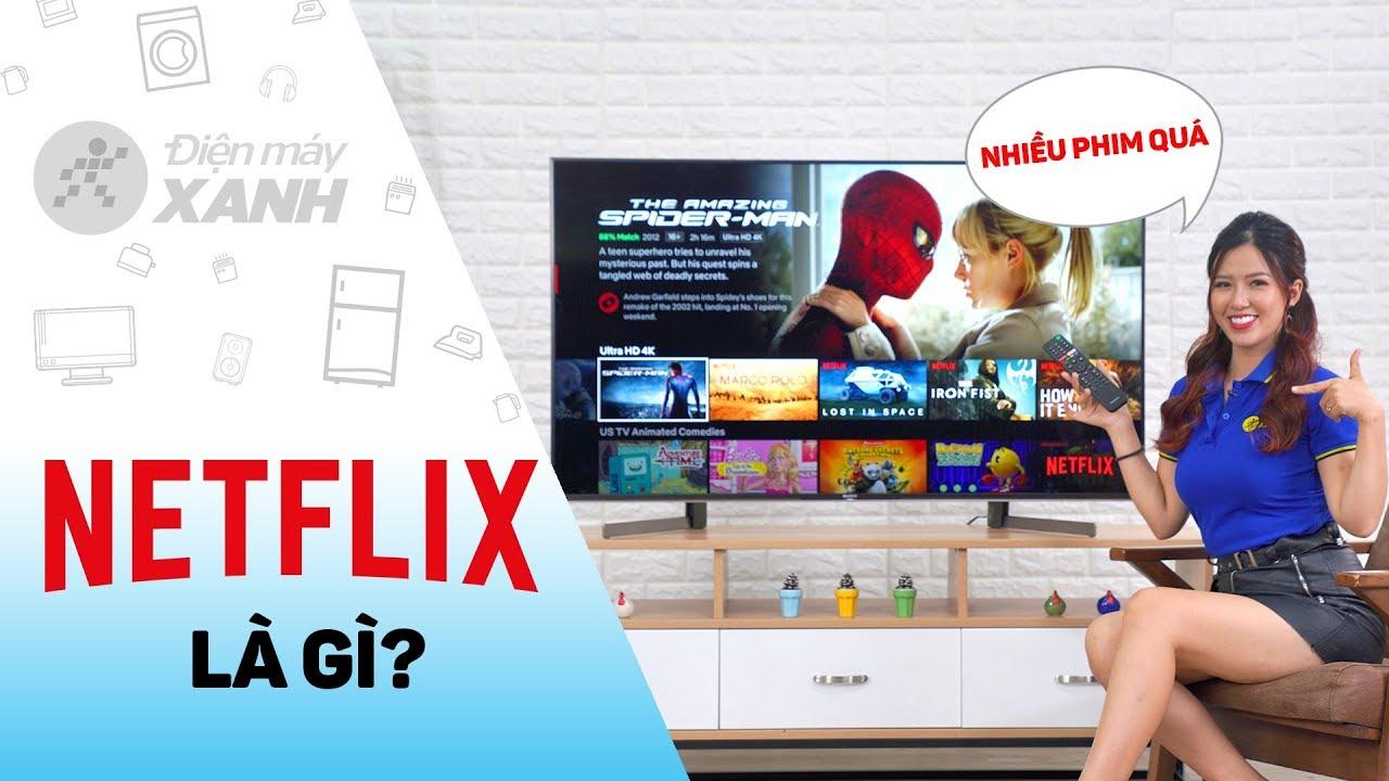 Netflix trên tivi: phim hay, có 4K, giá thuê bao hợp lý | Điện máy XANH