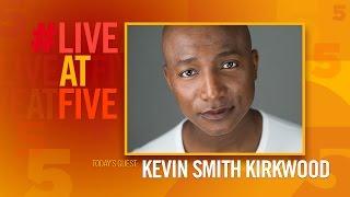 Broadway.com #LiveatFive with Kevin Smith Kirkwood of KINKY BOOTS