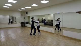 танец Ча-ча-ча(урок 5)Dance Cha-Cha-Cha(leson 5)