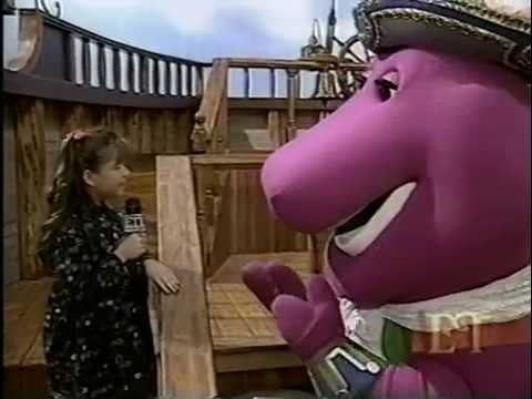 Ashley Peldon on Barney set. Age 9.1994