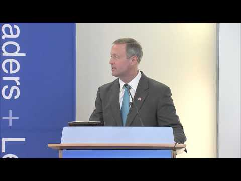 Leaders and Legends - Governor Martin O'Malley