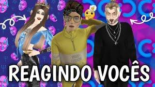REAGINDO AO PERFIL DE INSCRITOS!!!(LIVINHO AVAKIN)