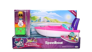 Gift 'Ems Series 2 Speedboat Set Unboxing Toy Review with Exclusive Boy Captain