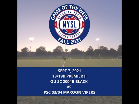 NYSL Game of the Week - 9.7.21