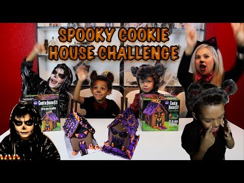 SPOOKY COOKIE HOUSE CHALLENGE and A POWER OUTAGE