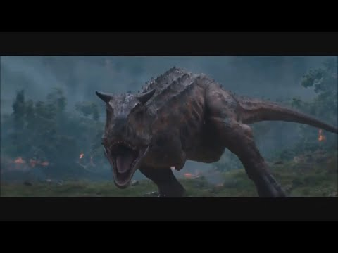 Jurassic World: Rexy vs Carnotaurus (Full Scene Revealed!)