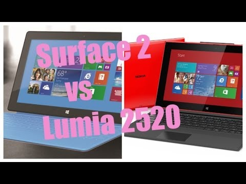 Nokia Lumia 2520 vs Surface 2 Official Ads [HD]