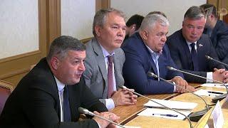 Состояние российско-грузинских отношений обсудили парламентарии двух стран.