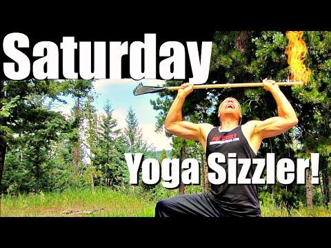 saturday  fat burning athletic yoga workout  7 day