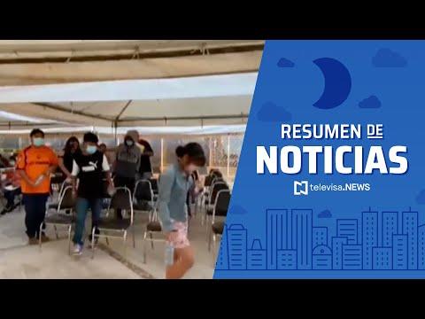 Coahuila, primer estado en iniciar vacunación en adolescentes de 12 a 17 años, resumen de noticias