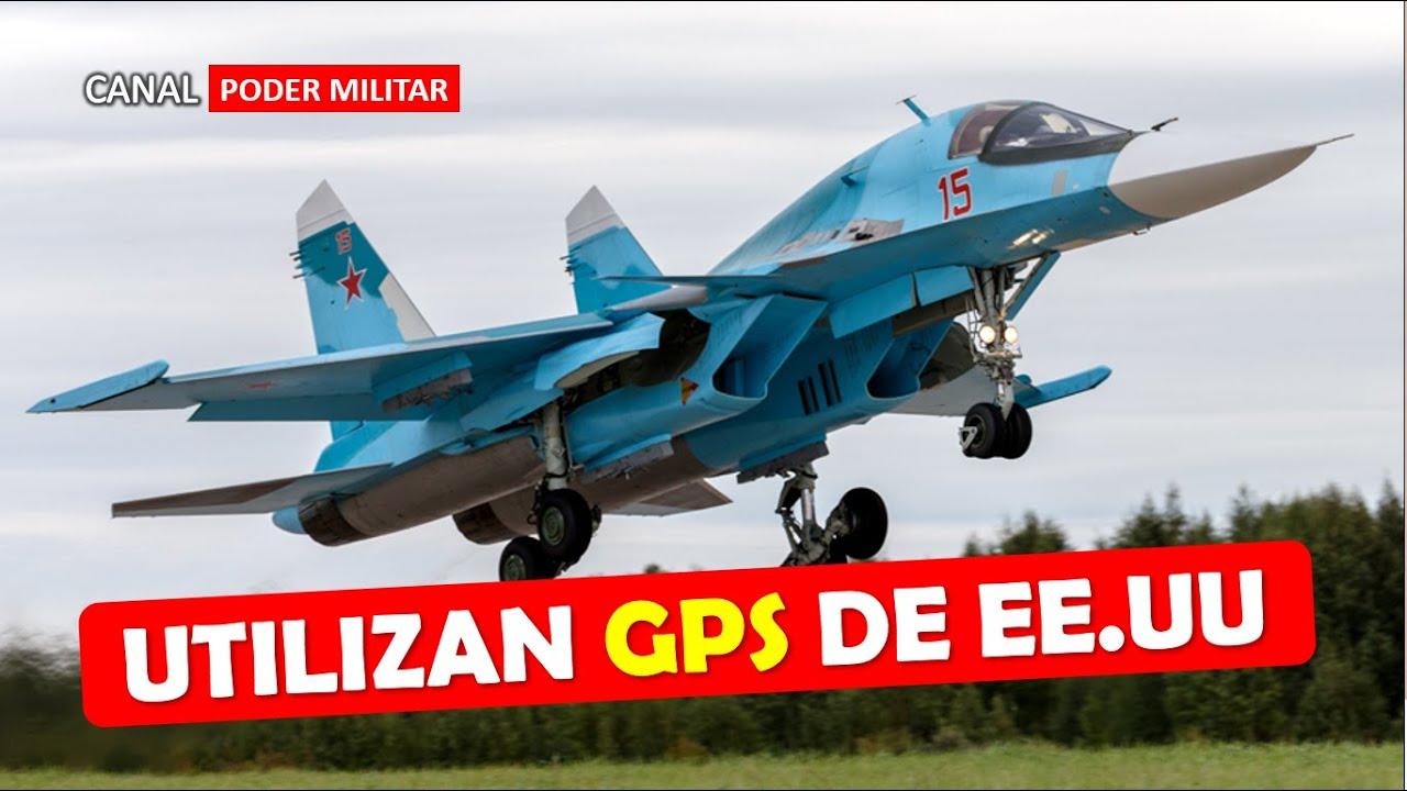 Aviones de combate rusos utilizan GPS de EE.UU por ser mas efectivos