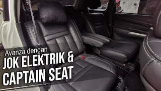 MODIF HEDON VELOZ PAKAI JOK ELEKTRIK DAN CAPTAIN SEAT