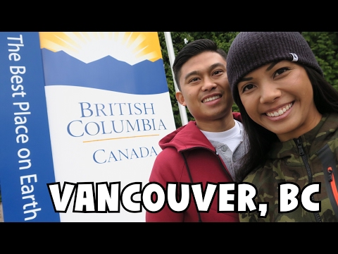 SEATTLE TO VANCOUVER ↠ AQUABUS, GRANVILLE ISLAND, POUTINE! | British Columbia Travel Vlog