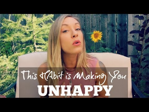 This Habit Is Making You Unhappy