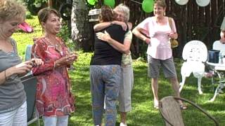 This Mom is SHOCKED TWICE at 60th Birthday Surprise Party! A MUST See!