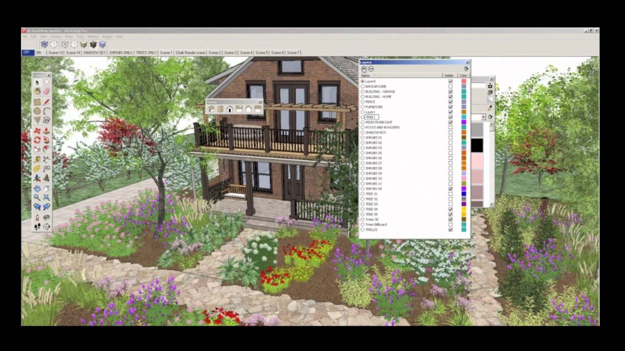Rendering Trees For SketchUp