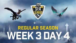[Full Event] ONE Esports Dota 2 SEA League - Regular Season - July 05 ONE Esports