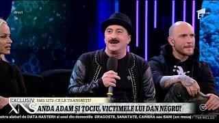 Dan Negru le-a făcut câteva farse colegilor din platou! Anda Adam şi Romică Ţociu, printre victime