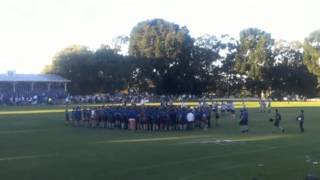 CHURCHIE CELEBRATE WIN OVER NUDGEE AT RUGBY AT ROSS OVAL 2011