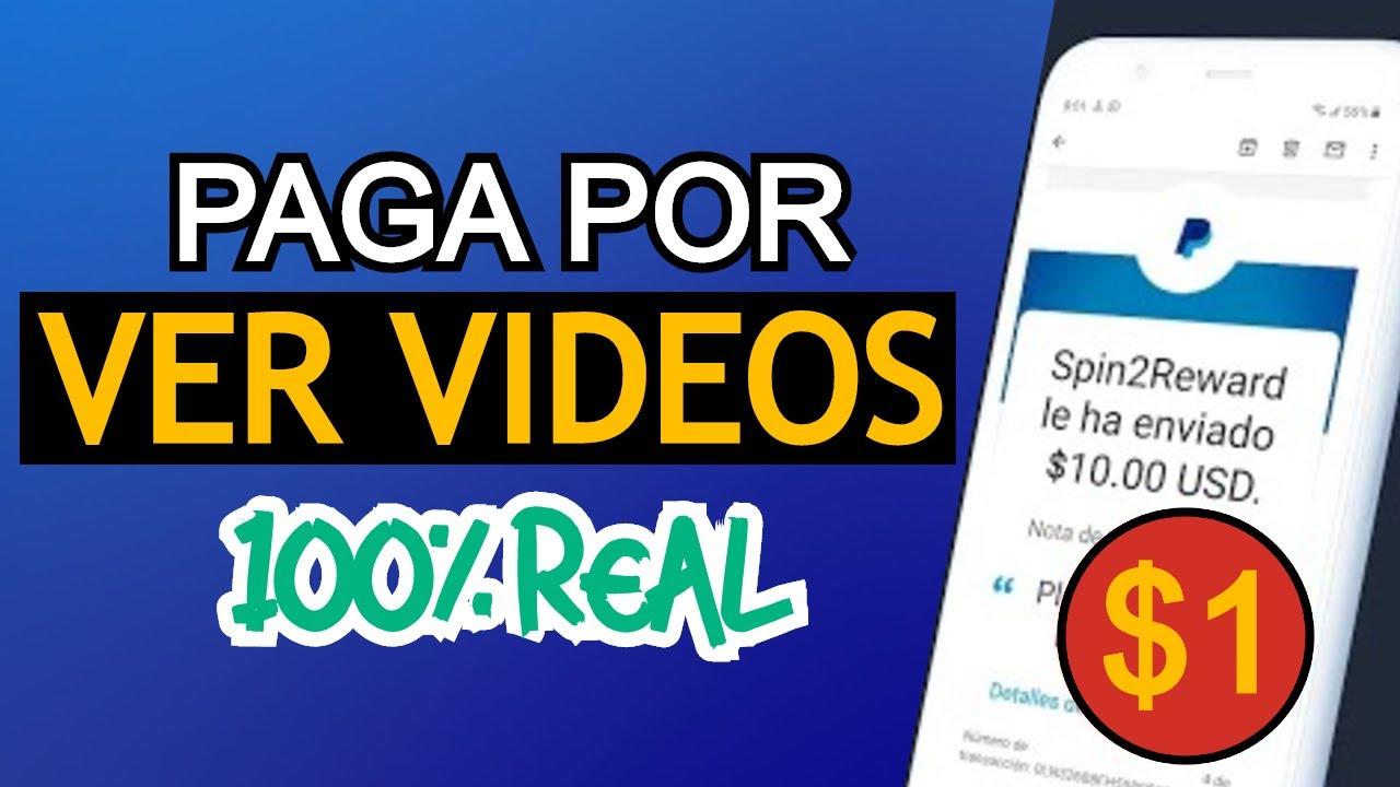 🎉NUEVA! Aplicación para GANAR DINERO PayPal 2020 🚀¡VIENDO VIDEOS! Dinero con Apps💰