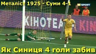 ФК «Металіст 1925» — ПФК «Суми» 4-1: усі голи матчу | Перша ліга || 5.08.2018