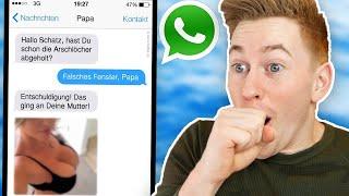 Die lustigsten & peinlichsten Chats mit Eltern! 😂😳