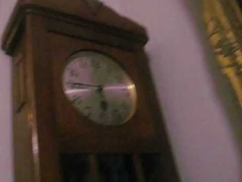 Westminster chime Grandfather clock for auction in James Adam Attic Sale