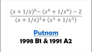 Putnam for Amusement: 1998 B1 and 1991 A2