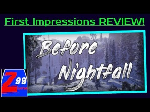 "Before Nightfall – A Graphically Impressive ""Small Survival Game"" for Just 99 Cents!"