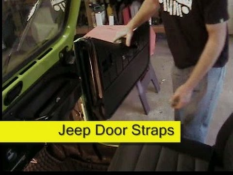 Jeep Door Straps Youtube