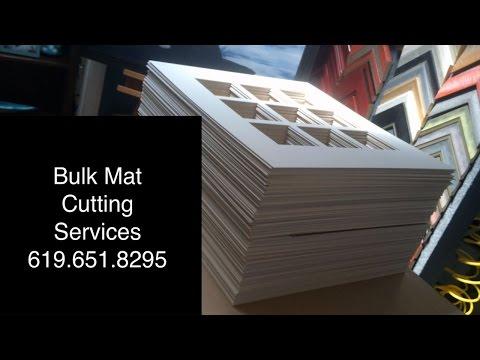 Bulk Mat Cutting Services By Jacquez Art & Custom Framing