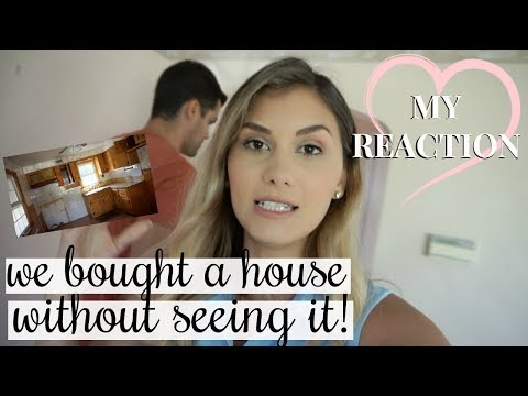 WE BOUGHT A HOUSE SIGHT UNSEEN! MY FIRST REACTION | AUCTION SALE