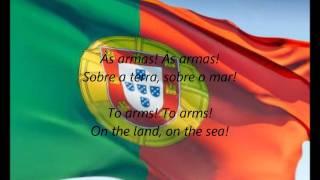 """Portuguese National Anthem - """"A Portuguesa"""" (PT/EN)"""