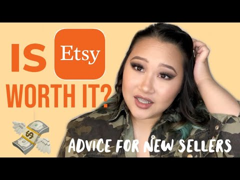 Is Selling On Etsy Worth It? 2018 | My advice for new sellers | Jasmine Diamond