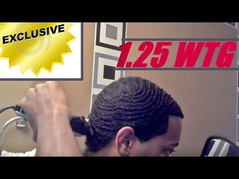 How To Cut Number #1.25 Guard WTG Waves Haircut Yourself