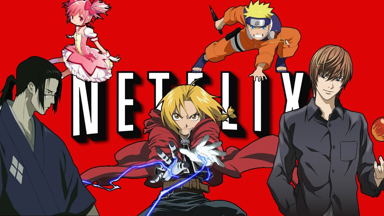 Top 10 Anime On Netflix 6 15