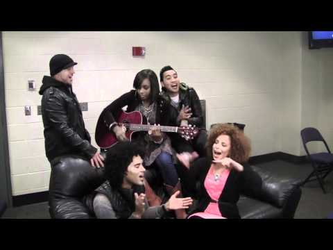 Group 1 Crew feat. Jamie Grace - Breakdown (acoustic, backstage at The Revolve Tour)